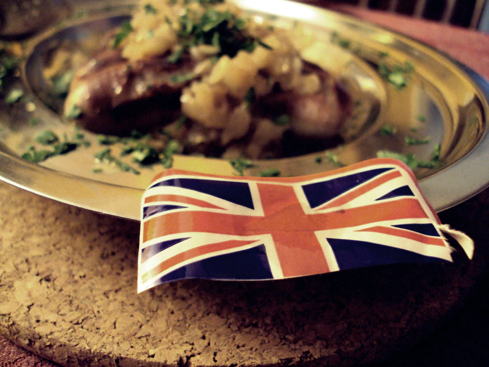 Английский в ресторане: блюда