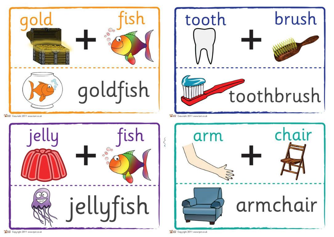 Составные слова в английском языке
