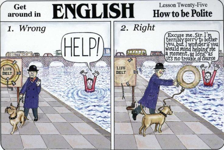 Отличается ли английский этикет от этикета в вашем родном языке?
