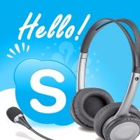 при обучении через Skype