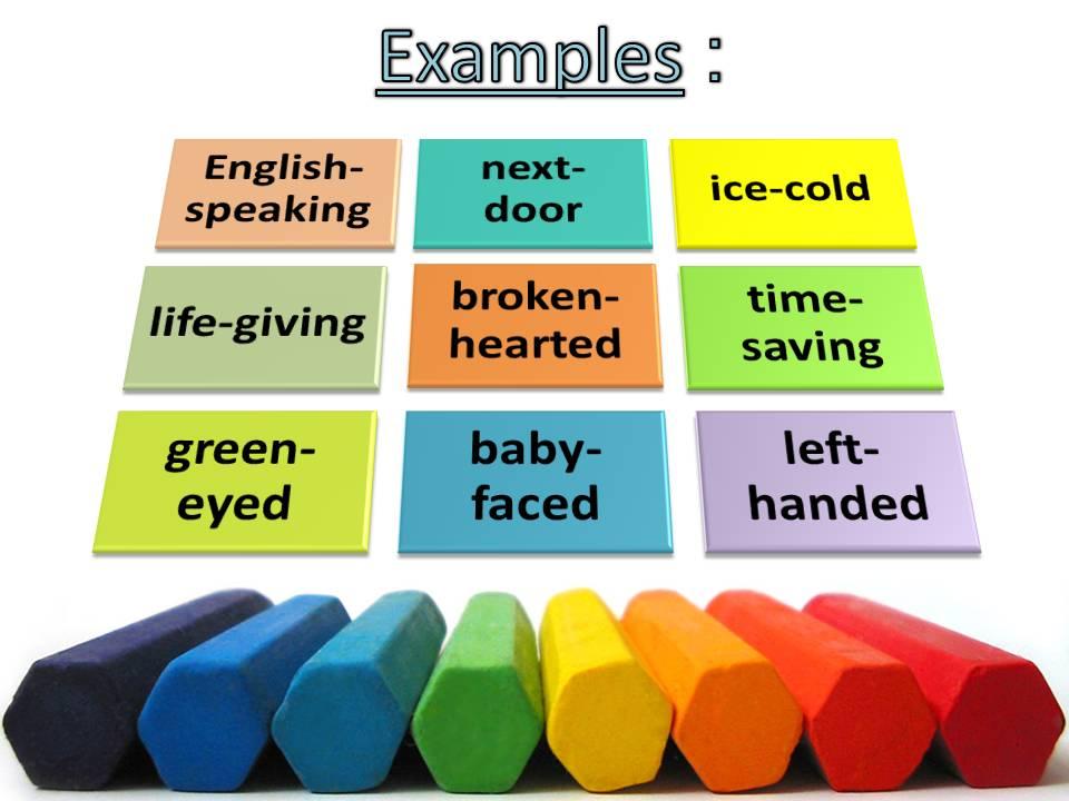 Сложные слова и их формы в английском языке