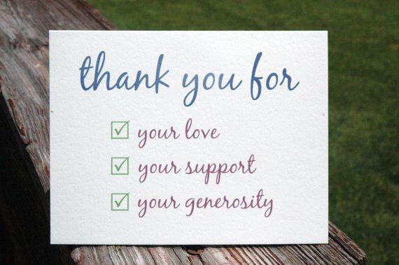 Слова благодарности на английском