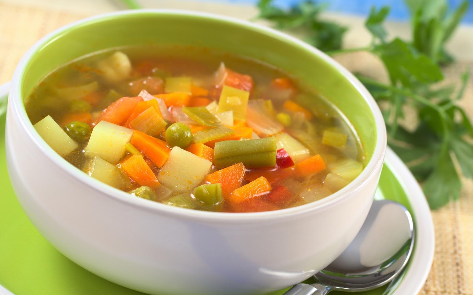 Рецепт овощного супа на английском с переводом