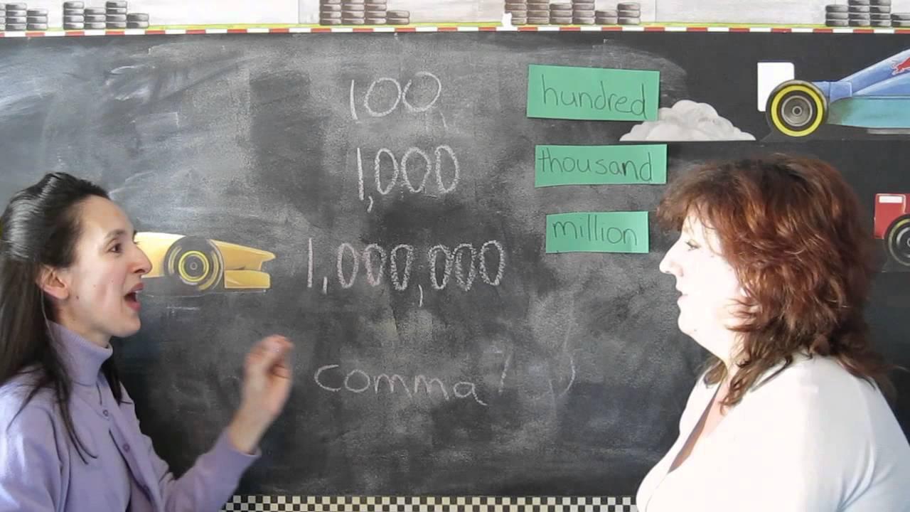 Количественные числительные