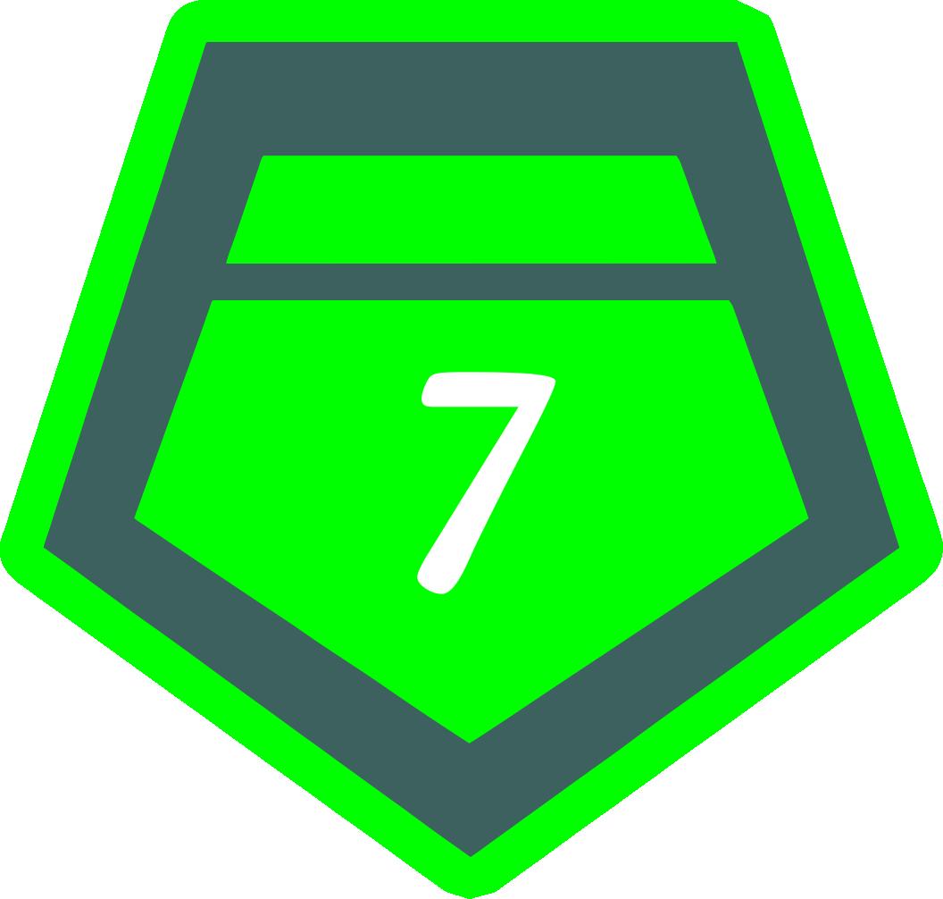 7 место