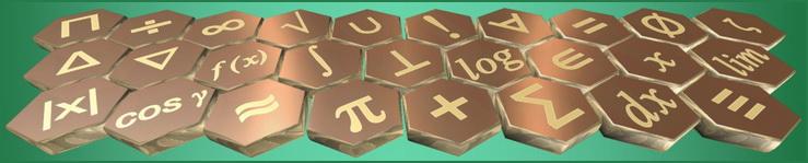 Математические знаки и символы на английском