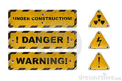 Опасные таблички на английском языке