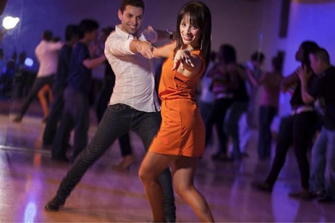 Латинос любительские парные танцы видео